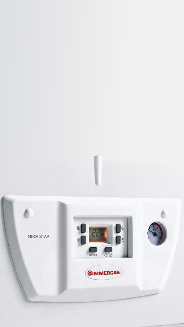 Immergas Nike Star 24 kW Bacalı Kombi