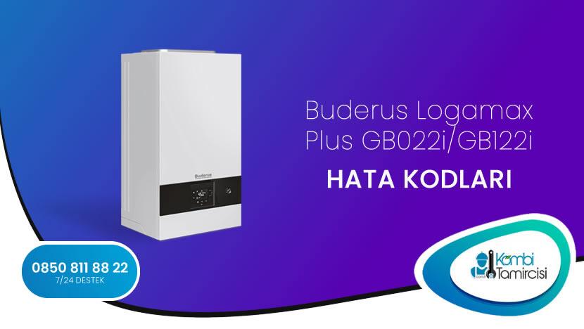 Buderus Logamax Plus GB022i/GB122i Arıza Kodları