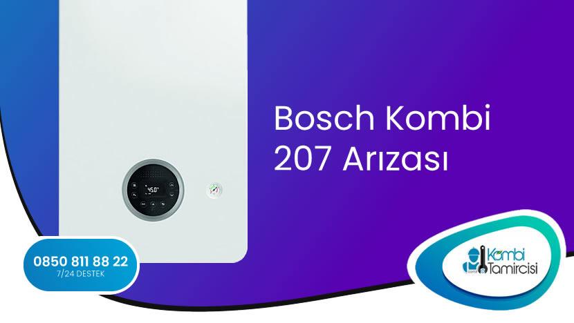 Bosch Kombi 207 Arızası