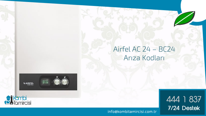 AC 24-BC 24 Arıza Kodları