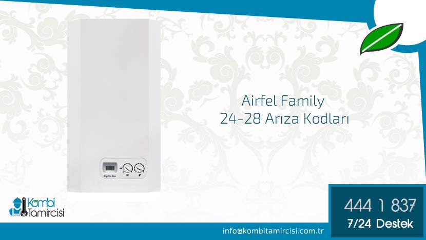 Airfel Family 24-28 Arıza Kodları