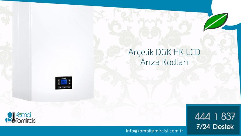 Arçelik DGK 20 HK LCD Arıza Kodları