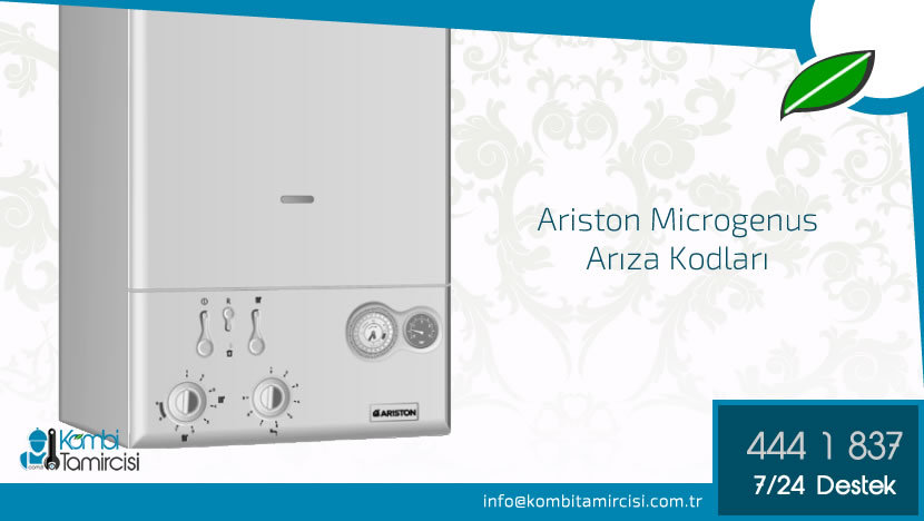Ariston Microgenus Arıza Kodları