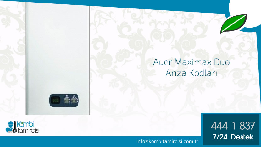Auer Maximax Arıza Kodları