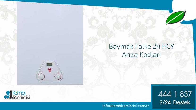 Baymak Falke 24 HCY/24 BCY Arıza Kodları