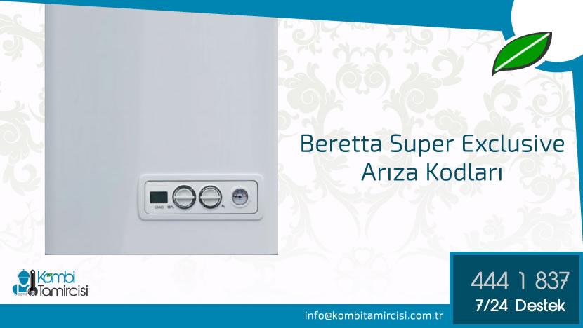 Beretta Super Exclusive Arıza Kodları