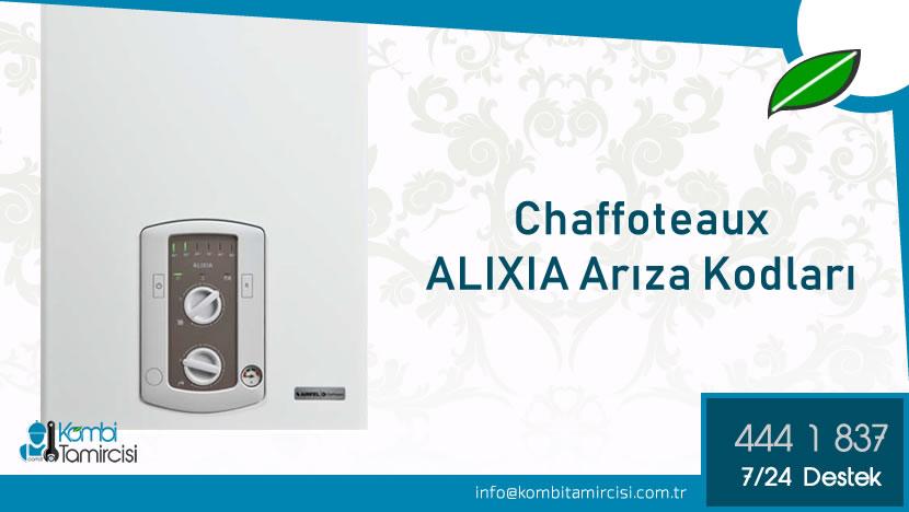 Chaffoteaux ALIXIA Arıza Kodları