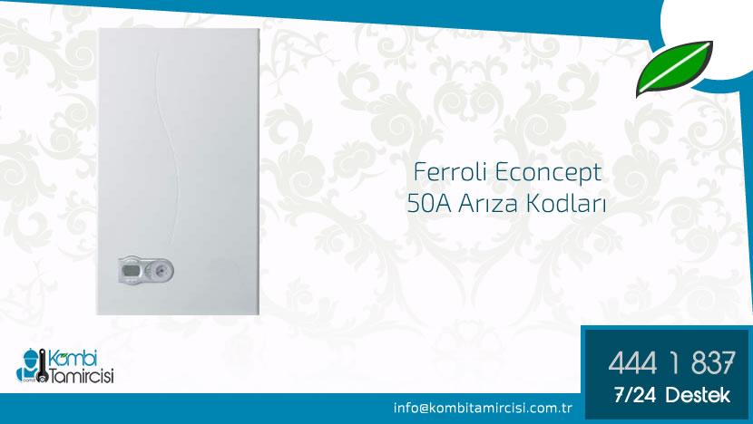 Ferroli Econcept 50A Arıza Kodları
